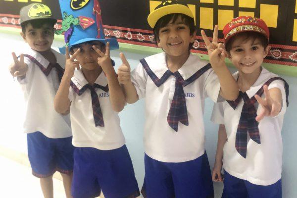 Thinking hat day KG 1 (3)