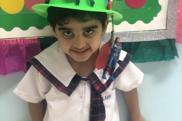 Thinking hat day KG 1 (5)