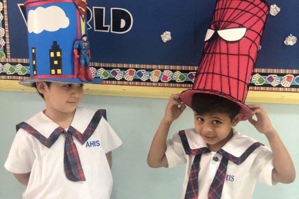 Thinking hat day KG 1 (9)