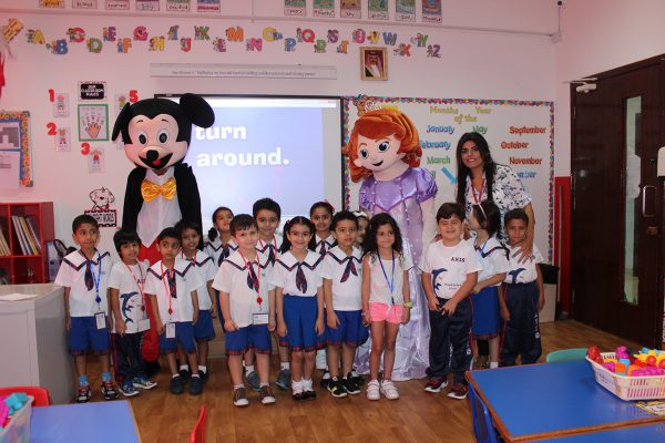 FIRST DAY OF KG 2016-20178