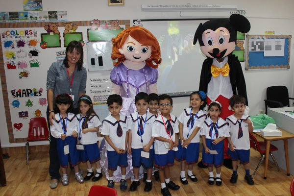 FIRST DAY OF KG 2016-20179