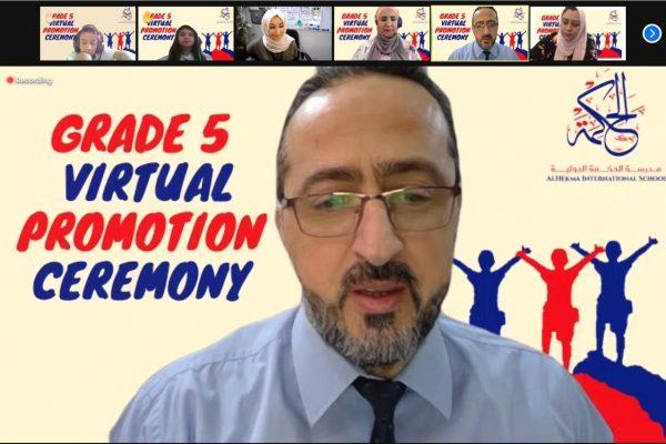 Grade 5 Virtual Promotion Ceremony (2021)1