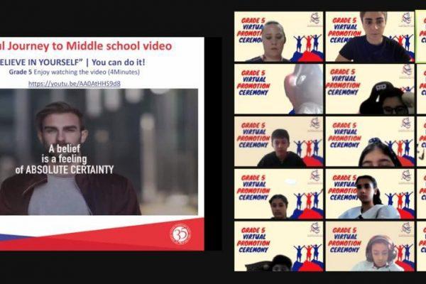 Grade 5 Virtual Promotion Ceremony (2021)12