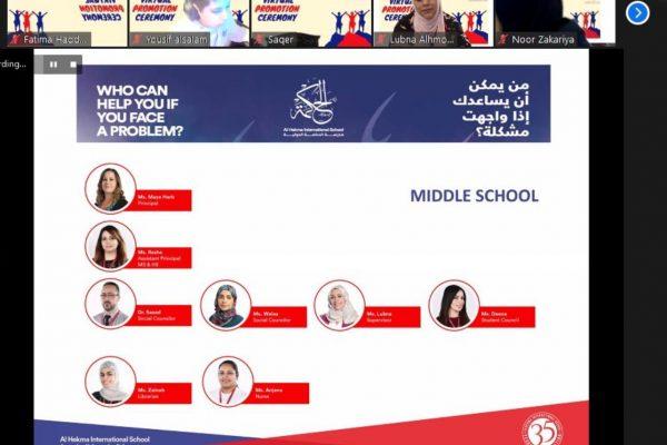 Grade 5 Virtual Promotion Ceremony (2021)20
