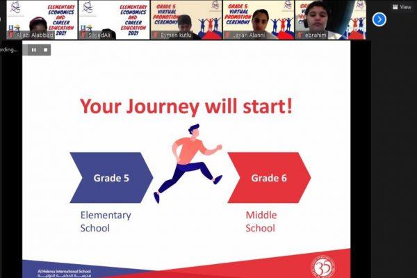 Grade 5 Virtual Promotion Ceremony (2021)21
