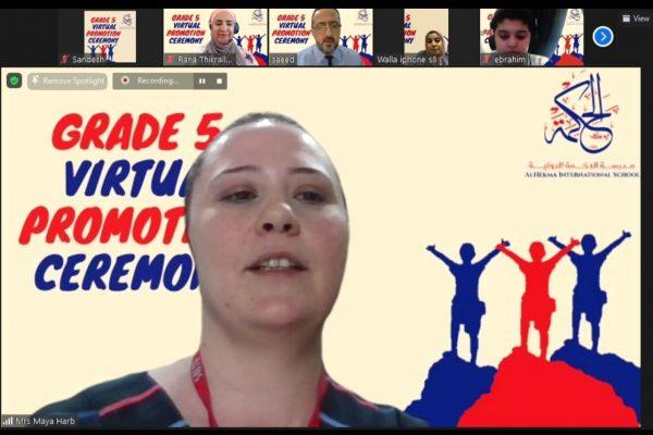 Grade 5 Virtual Promotion Ceremony (2021)25