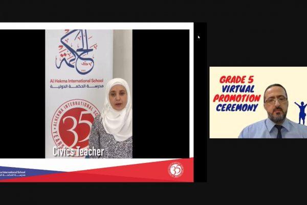 Grade 5 Virtual Promotion Ceremony (2021)32