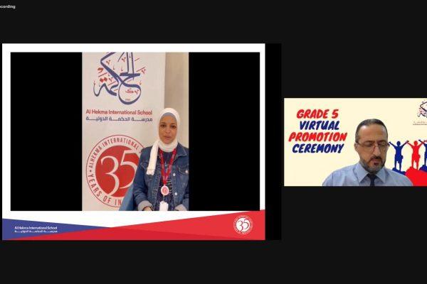 Grade 5 Virtual Promotion Ceremony (2021)33