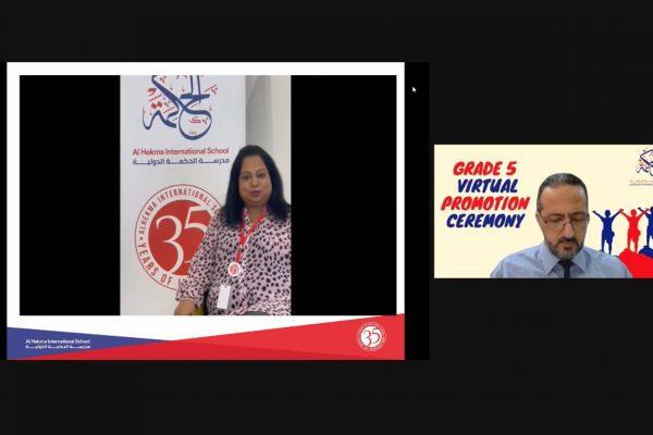 Grade 5 Virtual Promotion Ceremony (2021)7
