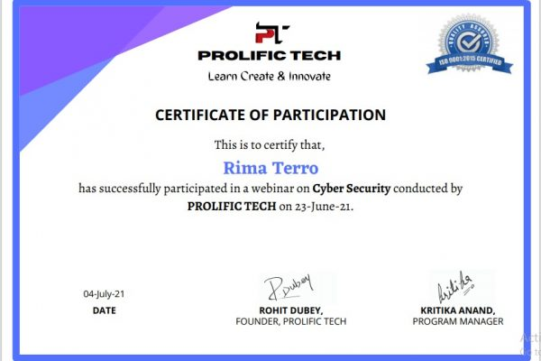 Cybersecurity webinar with Prolific Tech company (13)