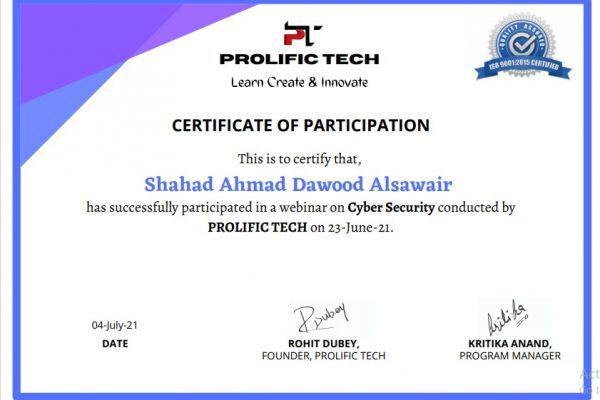 Cybersecurity webinar with Prolific Tech company (15)