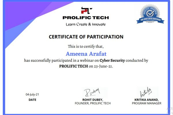 Cybersecurity webinar with Prolific Tech company (7)