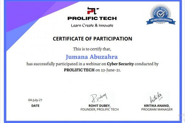 Cybersecurity webinar with Prolific Tech company (8)