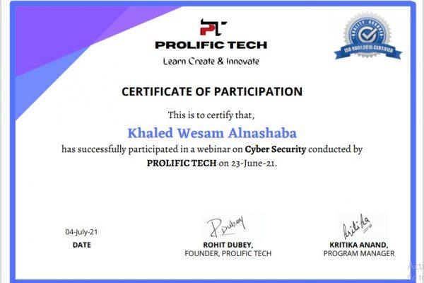 Cybersecurity webinar with Prolific Tech company (9)
